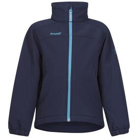 Bergans Kids Reine Jacket Navy/Dark Turquoise